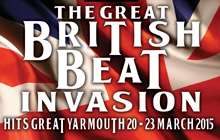 Save £35 per person for the The Great British Beat Invasion adult music weekend