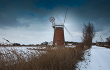 Wintertime at Horsey Mill